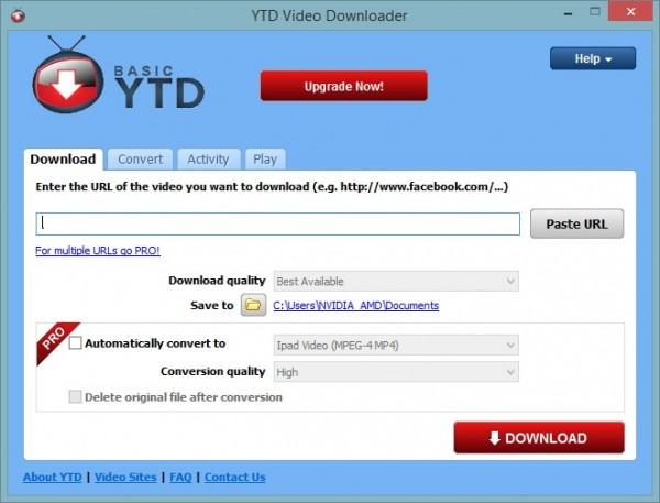 โปรแกรมโหลดYouTube Downloader Pro YTD 4.8.3 + Crack FREE Download