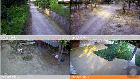 งานติดตั้งกล้องวงจรปิดhdcvi 8channel แบบOutdoor 2.0MP Full HD ที่เชียงใหม่ อ.หางดง มูลนิธิร่มไทร NPO