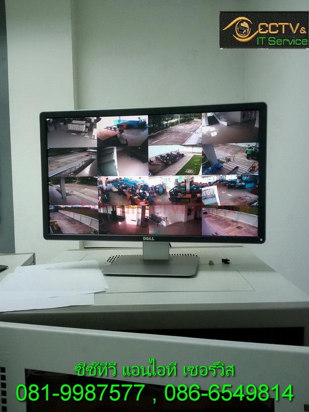 สำนักงานธนารักษ์ ลำพูน แก้เครื่องSERVERกล้องแสดงผล ติดๆดับๆ เปลี่ยนเครื่องเป็นNVR 16ช่อง แบบPOE